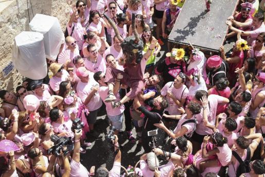 Imagen de la fiesta del Much, el pasado verano.