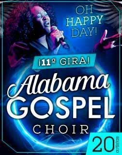 Alabama Gospel Choir en concierto en Auditórium de Palma