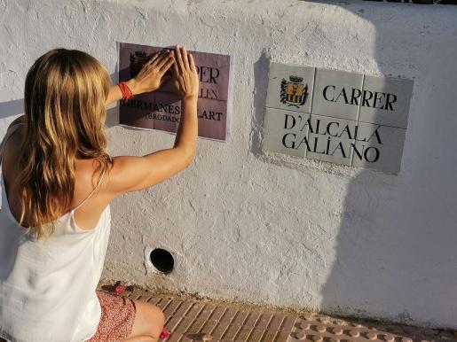 La propuesta para el carrer Alcalá Galiano es que pase a llamarse Germanes Gilart para homenajear a cuatro hermanas bordadoras.