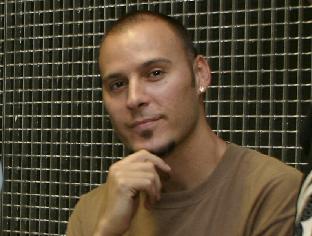 Imagen de archivo del rapero en una anterior visita a la Isla con su formación.