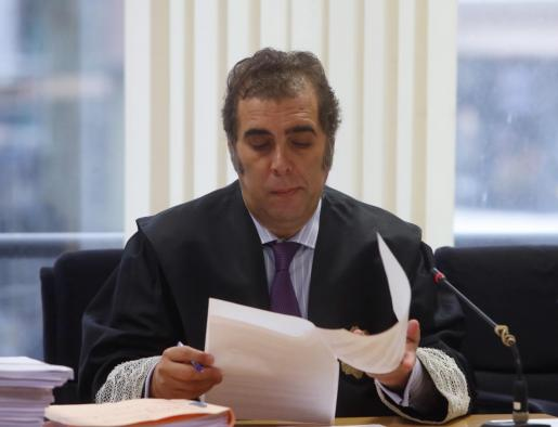 Andrés Sanchez Magro, el juez de lo mercantil, durante la vista del pasado miércoles.