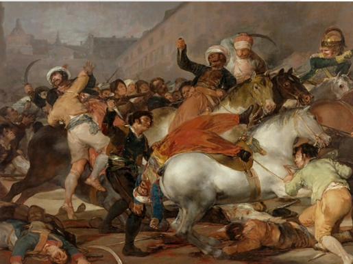 El Dos de Mayo visto por Goya.