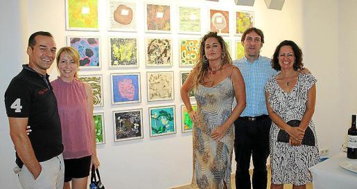 Gabriel Mariño, Anna Kurek, Rosa Vanrell, Fran Amengual y Francesca Lagartera.