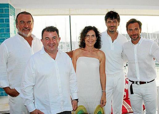 Ramón Andreu, Martín Berasategui, Pilar García de la Puebla, Andrés Velencoso y Manuel Terroba, presidente de BMW Group España y Portugal.