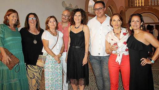 Pilar Rubines, Carmen Mora, Arantxa Furundarena, Javier Fernández, Pilar García de la Puebla, Juan Carlos Enrique, María Eugenia Yagüe y Amada Salvá.