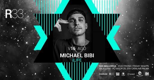 DJ Michael Bibi en concierto en Sala Luna