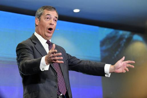 Nigel Farage, días atrás en Sydney.