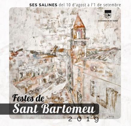 Festes de Sant Bartomeu 2019 en Ses Salines.