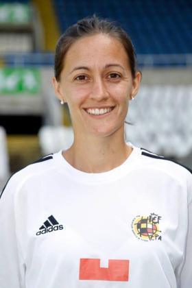Guadalupe Porras, en su imagen oficial de la temporada.