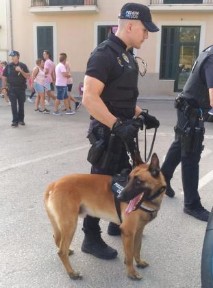 Se activo un importante dispositivo de seguridad compuesto por 30 policías locales.