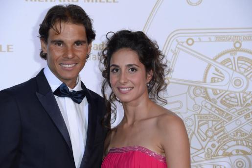 El tenista Rafa Nadal y su prometida, Xisca Perelló.