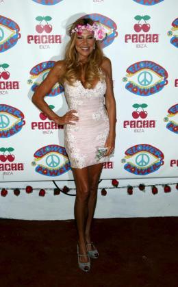 Ana Obregón, en una foto de archivo en Ibiza.