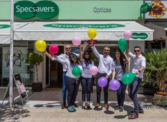 Specsavers Ópticas Santa Ponça celebra su 8º Aniversario