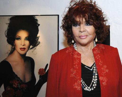 La actriz y cantante Sara Montiel, en una imagen de archivo.