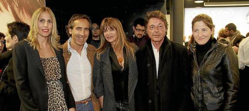 Cuchi Mulet, Toni Iglesias, Joss de Llongueras, Sergi Gros y Marie France Muzart.