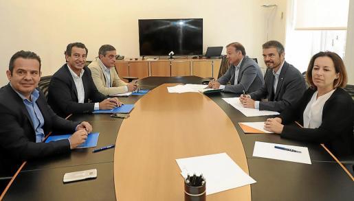Los dirigentes del PP y de Cs de Baleares se reunieron a principios de legislatura y ya llegaron a un pacto propio de legislatura.