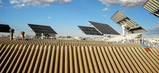 Las placas solares se instalarán en las cubiertas de los edificios y no se prevé el consumo de territorio.