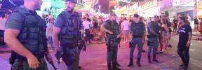 La Guardia Civil evita una reyerta entre dos grupos de turistas en Punta Ballena