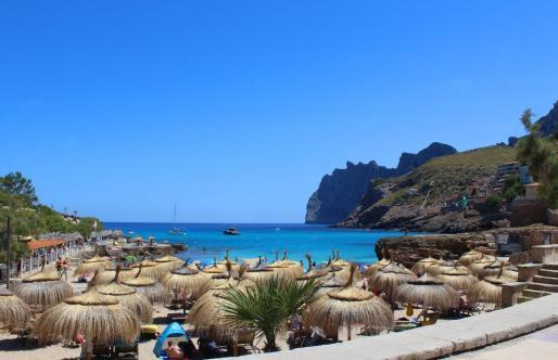 Imagen de archivo de la playa de Cala Molins.