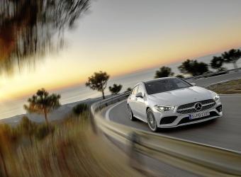 Nuevo modelo Mercedes CLA Shooting Brake