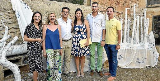 Carmen Marin, Miquela Vidal, Biel Company, Francisca Porquer, Sebastià Sagreras y Llorenç Galmés.
