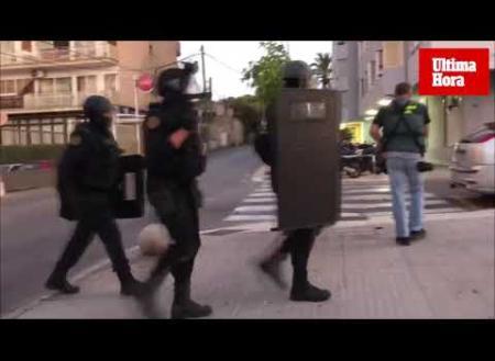 Gran operación antidroga en Mallorca