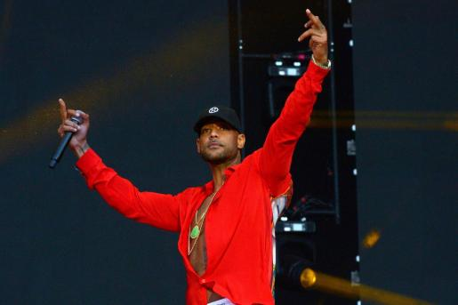 Carhaix (France).- (FILE) - French rapper Booba performs during Les Vieilles Charrues Festival in Carhaix, France, 18 July 2019. According to reports, during the filming of his new music video 'Glaive' in near Paris, dozens of men arrived firing guns, resulting in several injured people. (Cine, Francia) EFE/EPA/HUGO MARIE *** Local Caption *** 55347730 Les Vieilles Charrues Festival 2019