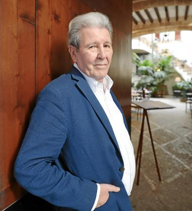 El editor Jorge Herralde, este miércoles, en un hotel del centro de Palma.