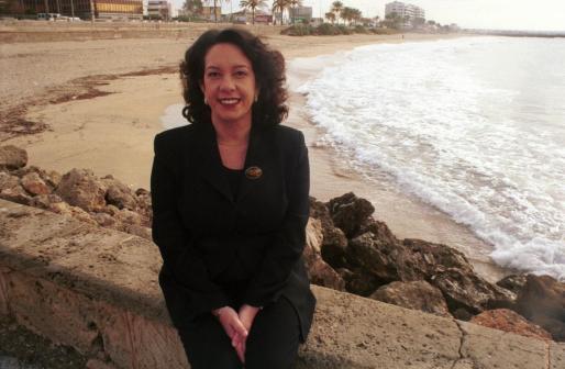 María Crespo, durante su etapa como regidora en el Ajuntament de Palma.
