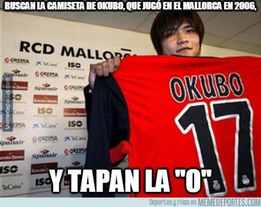 Uno de los muchos 'meme' sobre el fichaje de Kubo al Mallorca.