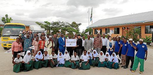 Kia ha gestionado con éxito la escuela durante cinco años.