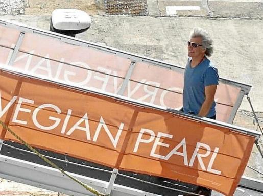 Jon Bon Jovi, en Palma.