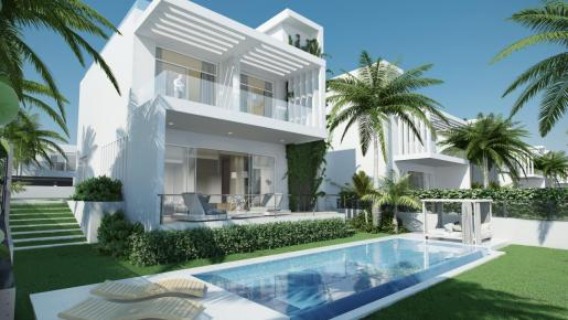 Las modernas villas de la 'Zona 1' cuentan en sus diseños con los deseos y expectativas de los clientes.