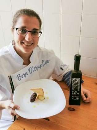 Mar Márquez presenta su receta: Pa amb oli, sal y chocolate.