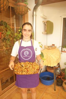 Marta Ortega Martínez presenta su receta: Frit Mariner amb Oli de oliva de Mallorca.