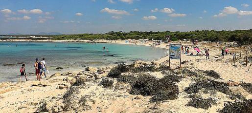 Es conocida por su arena blanca y fina, y el agua totalmente cristalina.