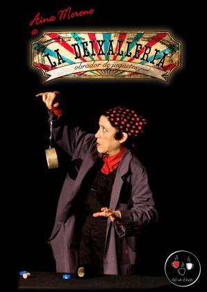 El sábado 7 de setiembre actuará la compañía mallorquina Té a tres con su 'Deixalleria' para niños a las 11.00 horas.