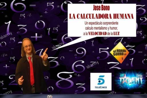 La Movida acoge un espectáculo con la calculadora humana y Manuel Bornes.