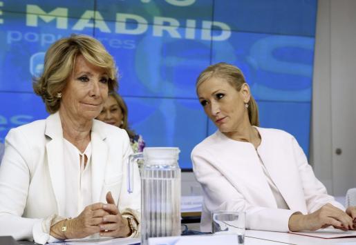 Esperanza Aguirre y Cristina Cifuentes, en una imagen del pasado.