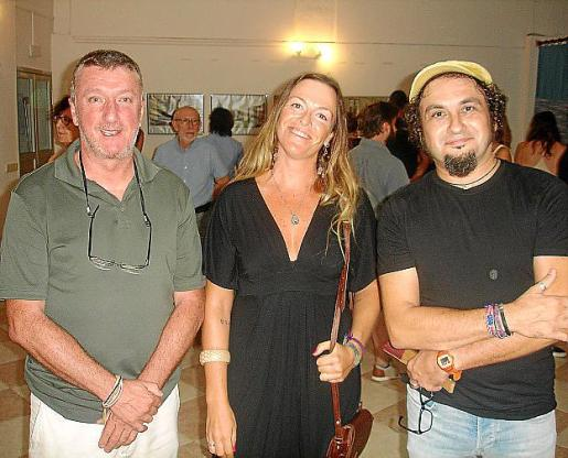 Pep Molina, Maria Rosselló y Jaume Adrover.
