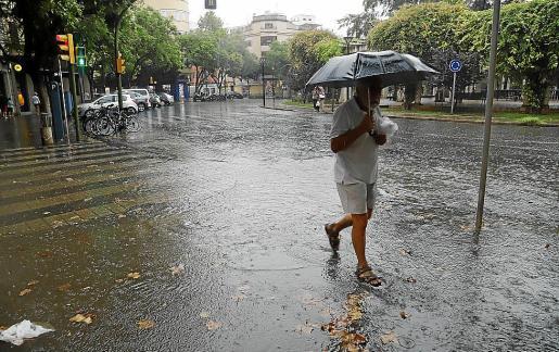 El temporal del pasado 27 de agosto, con precipitaciones importantes, sobre todo en el Migjorn, no fue suficiente ni siquiera para que las lluvias del mes alcanzaran la media histórica.