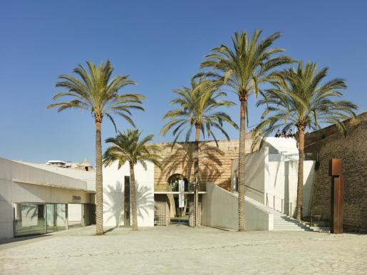 Vista exterior del Museu Es Baluard de Palma.