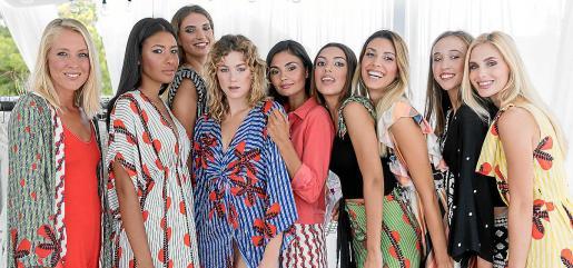 Melanie Genovart, Carla Pérez, Andrea Muntaner, Bella Rose, Marcela Miró, Andrea Picó, Luna Díez, Claudia Escandell y Laura Sohie Breuning.