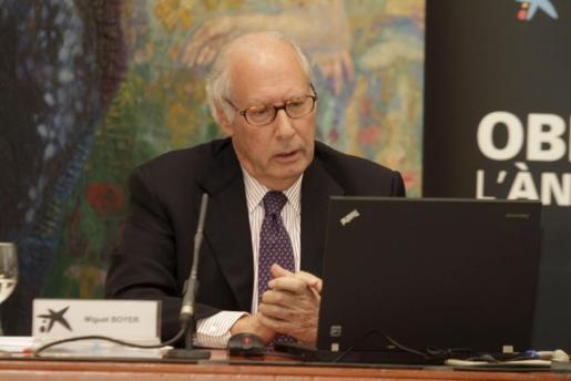 Miguel Boyer, en una foto de archivo.