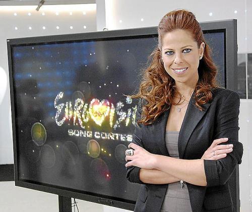 Presentacion de la cancion que interpretara Pastora Soler en el 57 Festival de Eurovision en Baku.