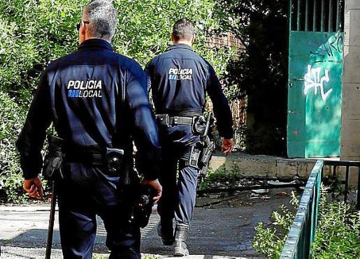 La Policía Local de Palma arrestó a los hombres.