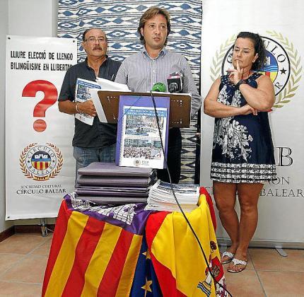 Jorge Campos, en 2012, cuando presidía el Círculo Balear, ya cargaba contra el sistema educativo de Baleares.