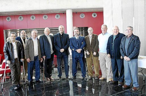 Antonio Tur, Llorenç Cáffaro, Tomeu Costa, Jaime Amer, Antonio Donaire, Manuel Nieto, Pedro Soler, Antoni Enseñat, Miguel Ambrós y Joan Soler.