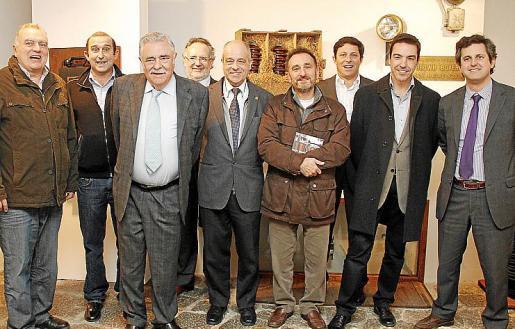 Vicenç Sastre, Santi Mayol, Pere A. Serra, Miguel Ángel Sáiz, Bartomeu Oliver, Miquel Colom, Oscar Mayol, Carlos Rullan y Pedro Rullan.