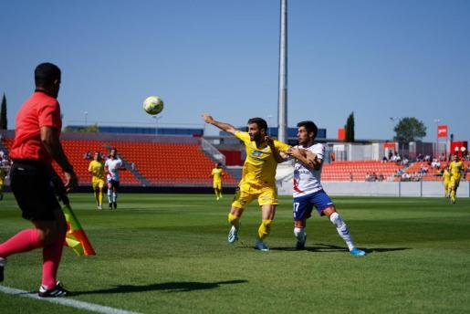 Imagen del encuentro disputado entre el Rayo Majadahonda y el Atlético Baleares.